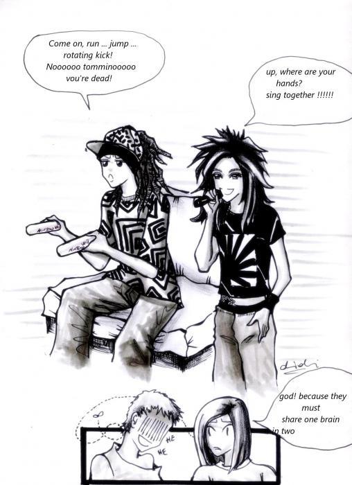 Tokio Hotel by didisim
